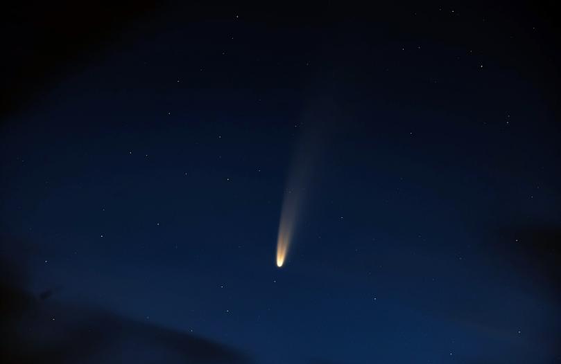 Comète Neowise appliquées aux lois de Kepler